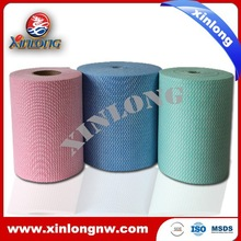 Printed spunlace nonwoven fabric, disposable cleansing cloth