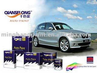 Multi- color de pintura de base, la pintura de automóviles, pintura de coche(imprimación, color base, capa transparente, hardender, diluyente) auto pintura base