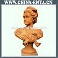 Escultura de fundición de hierro,escultura de mujer desnuda