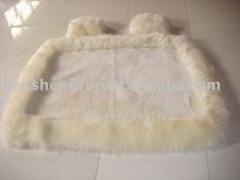 back sheepskin car seat covers