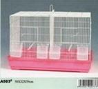 Metal wire bird breeding cage bird house handmade bird cage