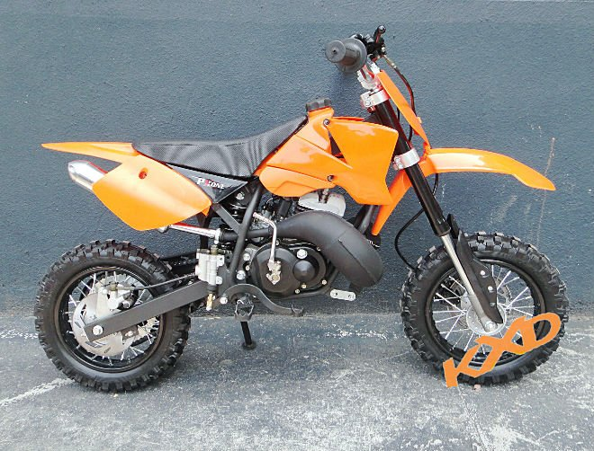2 stroke 50cc dirt bike