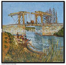oil painting Vangogh & Monet Painting