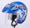 MOTORCYCLE HALF HELMET D003B
