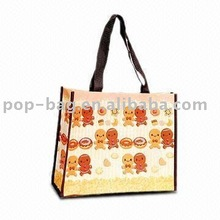 pp non woven shopping bag with recycled and reusable