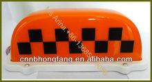 DC 12V taxi roof light box
