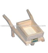 wooden rickshaw toy