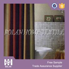 Yarn dyed jacquard shower curtain, elegant fabric shower curtain for Target