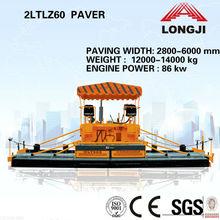 Mechanical Paver 2LTLZ60 6m wheel paver (Paving width: 6000mm,Engine power: 86kw)