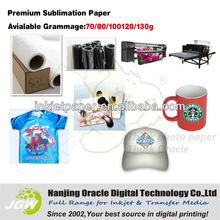 Heat transfer sublimation paper for textile/mugs