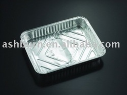 One compartment Aluminium Container Deep
