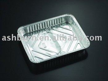 One compartment Aluminium Container Deep