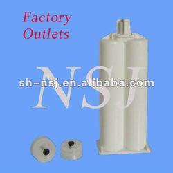 Dual cartridge, Sealant Cartridge, Caulking cartridge for 50ml 1:1 AB arylic adhesives and sealants