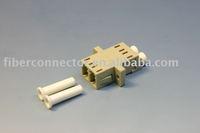 LC/UPC MM Duplex (SC FootPrint) Fiber Optic Adapter
