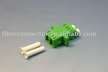 LC/APC SM Duplex (SC FootPrint) Fiber Optic Adapter