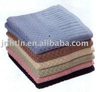 custom dayed satin terry cloth hand towels