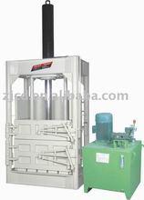Plastic hydraulic baler