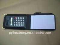 pocket calculator notebook