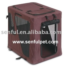 Heavy Duty Travel Soft Foldable Dog Cage Crate Kennel Carrier