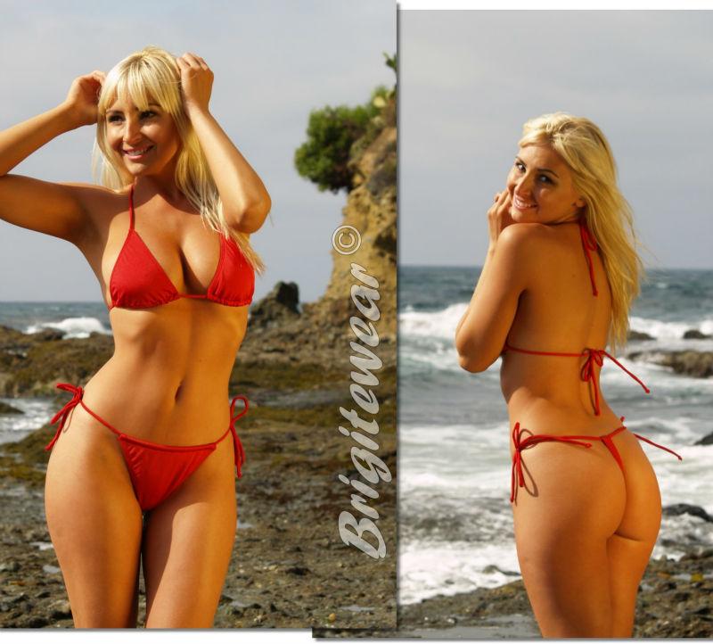 Beweglicher Komfort String Bikini