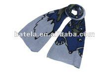 new arrvial animal printed fashion scarf, warm winter scarf