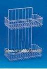 2 tiers PE coating metal Storage shelf