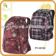 fashion ladies' polyester laptop school backpacks