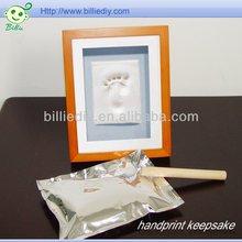 Baby Photo Frame Hand Print Clay Kit