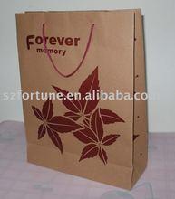 Luxury Kraft Brown paper wine packaging box