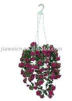 garden decorative artificial rose pendant