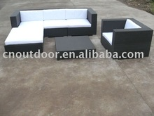 Classic And Comfortable Patio Sofa PE Rattan Furniture