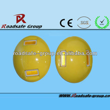 manufacturer direct selling double side reflector yellow Ceramic traffic Stud
