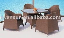 2012 season popular resin wicker outdoor furniture