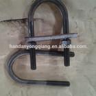M16 U Bolt zinc plated grade 4.8