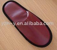 PU slipper for hotel