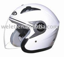 ECE helmet WHITE WLT-202 DOT motocycle