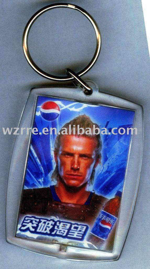 key chain/acrylic key ring/808 car keys chain micro-camera promotional key chain