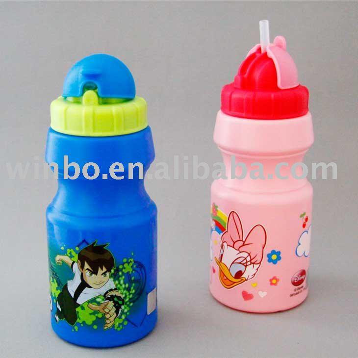 Cartoon Plastic Water Bottle Cartoon Kids Plastic Water
