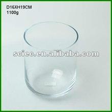 Cylinder Antique Glass Vase