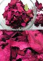 有機赤お茶用乾燥したバラの花びら
