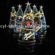 USB Christmas Tree with Fiber Optical LED Light