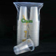 C077092, 7oz(207ml) PP disposable plastic hot drinking cup (100pcs/bag x 12bags/carton)
