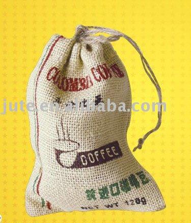 jute pouch(100%jute material,small jute sack)