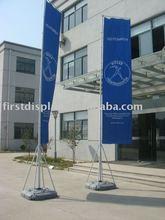 Aluminum portable outdoor giant advertising flagpole