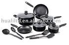 aluminium non-stick cookware set(14pcs-set)