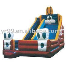 inflatable slides/castles, large land air toys, household jumped, slide