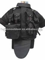 Black OTV Body Armor Tactical Vest Carrier