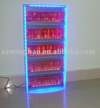led lighting case display rack for acrylic cigarette