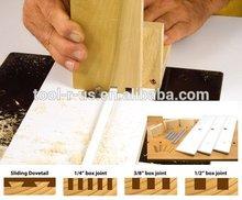 Multi conjunta espaciamiento sistema de cola de milano conjunta de la plantilla
