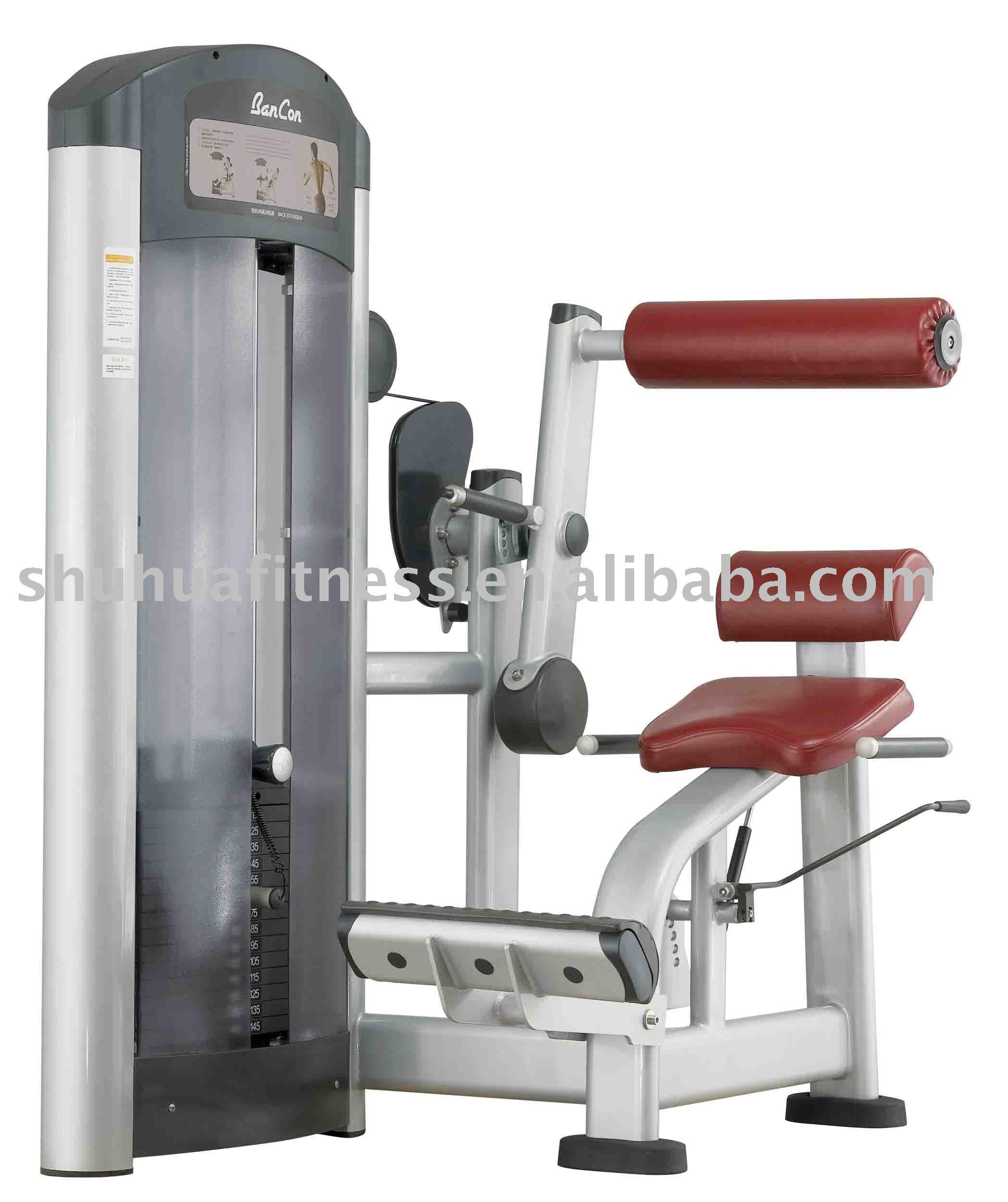 spine extension machine